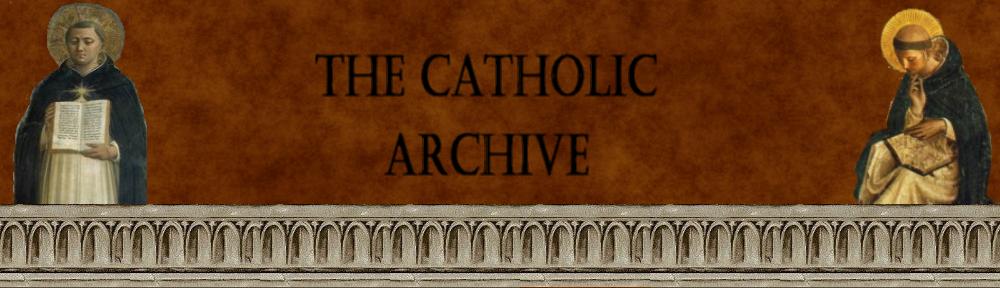 The Catholic Archive